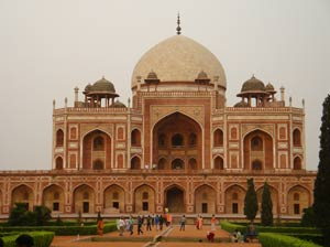 Parece o Taj Mahal mas não é.